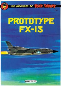 buck danny tome 24 - prototype fx-13
