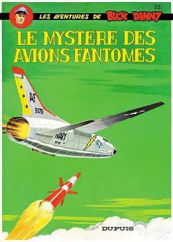 buck danny tome 33 - le mystère des avions fantômes