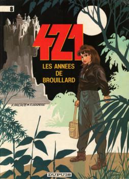 421 tome 8 - les années de brouillard