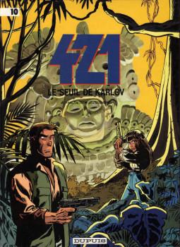 421 tome 10 - le seuil de karpov