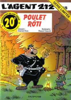 l'agent 212 tome 18 - poulet roti