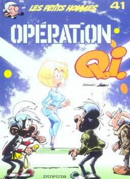 Les petits hommes tome 41 - operation q.i.