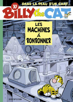 billy the cat tome 10 - les machines a ronronner