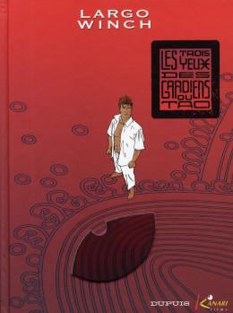 largo winch tome 15 - les trois yeux des gardiens du tao luxe