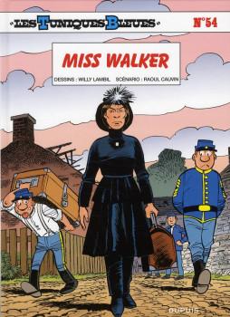 les tuniques bleues tome 54 - miss Walker