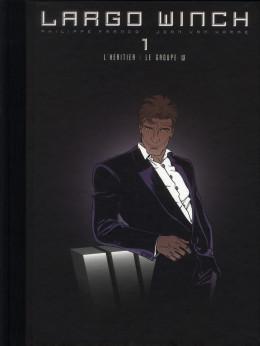 Largo Winch - diptyque tome 1 édition Le Soir