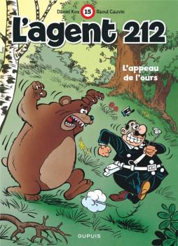 l'agent 212 tome 15 - l'appeau de l'ours