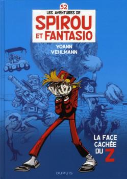 Spirou et Fantasio tome 52 - couverture alternative