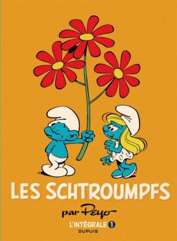 les schtroumpfs - intégrale tome 1 - 1958-1966