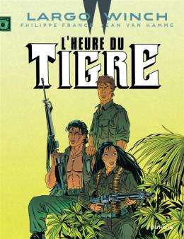 Largo Winch tome 8 - l'heure du tigre