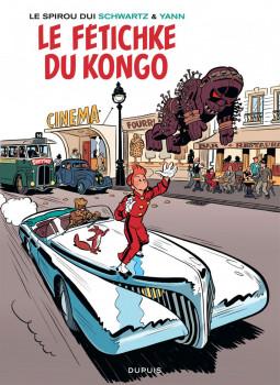 Spirou vu par.. Schwartz et Yann : le fetichke du Kongo (bruxellois)
