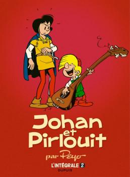Johan et Pirlouit intégrale tome 2