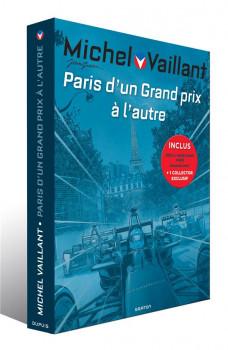 Michel Vaillant - fourreau - Renaissance + 300 à l'heure dans Paris