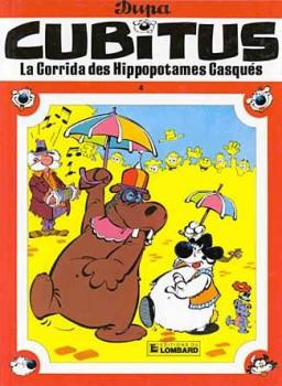 Cubitus tome 4 - la corrida des hippopotames casques