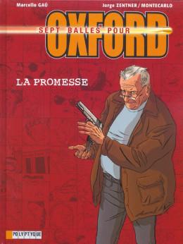 sept balles pour oxford tome 1 - la promesse