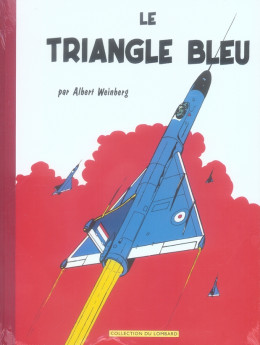 dan cooper ; le triangle bleu