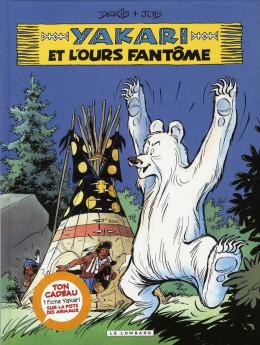 yakari tome 24 yakari et l'ours fantome t24 + fiche animale
