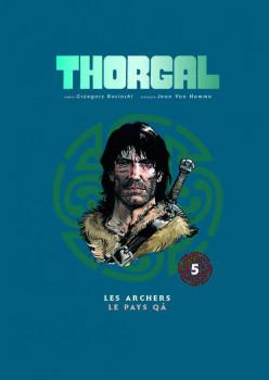 Thorgal - album double tome 5 - les archers - le pays Qa