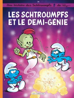 Les Schtroumpfs tome 34 - Les schtroumpfs et le demi-génie