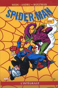 spider-man - intégrale tome 17 - 1978