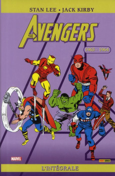 Avengers intégrale  tome 1