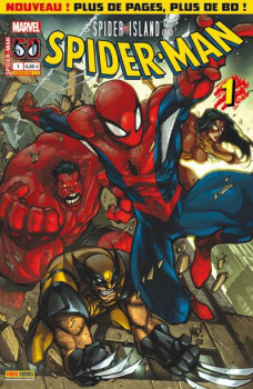 Spider-man - Spider-Island tome 1 (couv a)