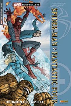 MARVEL BEST-SELLERS N.7 ; Spider-man & fantastic four ; réunion de famille