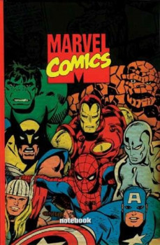 Carnet de notes Marvel