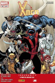 X-Men 2013 tome 15 : Vendetta 3/4 & Le Proces De Jean Grey 1/6 Cover Librairie