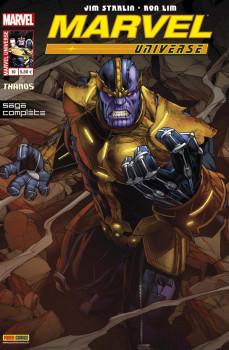 Marvel Universe 2013 tome 10 - Thanos - là-haut, un dieu écoute