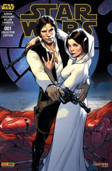 Star Wars fascicule tome 1 - couverture collector génération star wars et sf