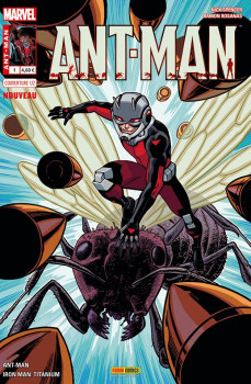 Ant-Man tome 1 - Cover 1/2 de Chris Samnee