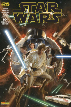 Star Wars fascicule tome 4 - VC Alex Ross + T-Shirt M