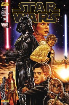 Star Wars fascicule tome 8 - cover 1/2
