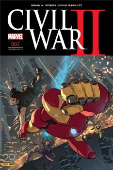 Civil War II tome 2 - cover 1/2