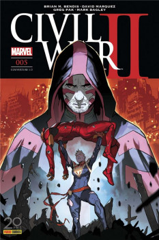 Civil war II tome 5 - cover 1/2
