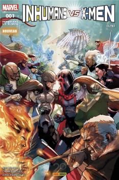 Inhumans VS X-Men tome 1