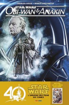Star wars : obi-wan et anakin + ex-libris