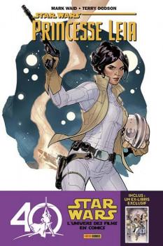 Princesse Leia + ex-libris