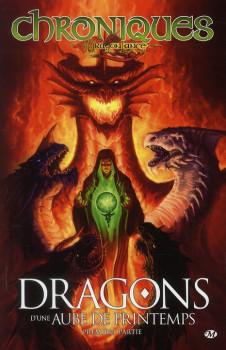 chroniques de dragonlance tome 3 - dragons d'une aube de printemps tome 1
