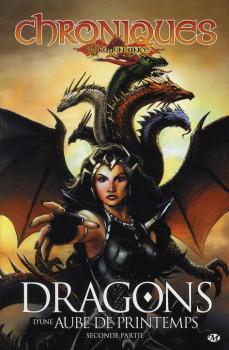 chroniques de dragonlance tome 4 - dragons d'une aube de printemps tome 2