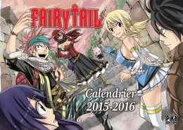 Calendrier fairy tail 2016