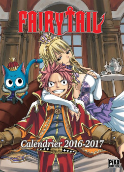 Calendrier fairy tail 2016-2017