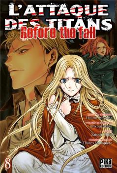 L'attaque des titans - Before the fall tome 8