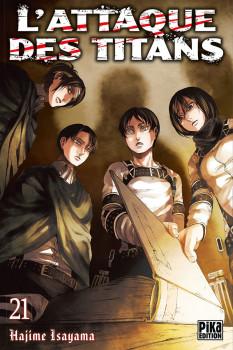 L'attaque des titans tome 21