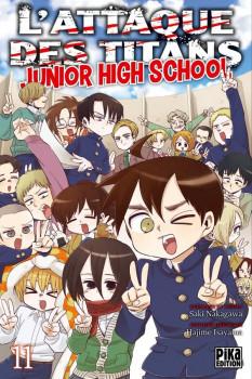 L'attaque des titans - junior high school tome 11