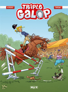Triple Galop tome 1 Mini'z