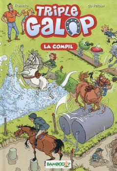 Triple Galop - roman poche tome 1 - La Compil'
