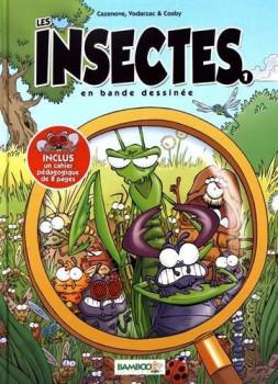Les insectes en BD tome 1 (nouvelle édition)