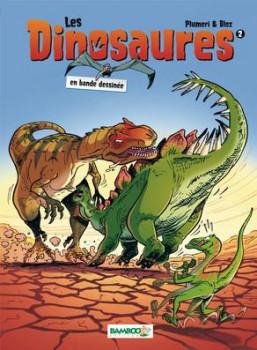 Les dinosaures en BD tome 2 (nouvelle édition)